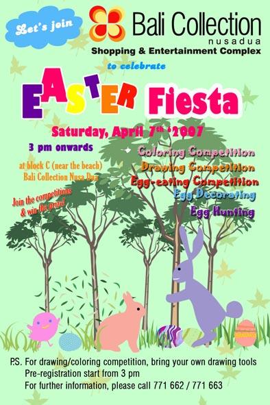 Easter Fiesta @ Bali Collection, Nusa Dua