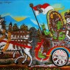 The Art of Glass Painting in Nagasepaha Buleleng