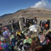 Kasodo Ceremony at Mount Bromo