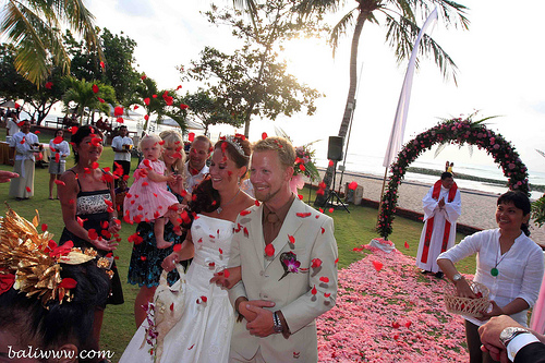 wedding at Discovery Kartika Plaza